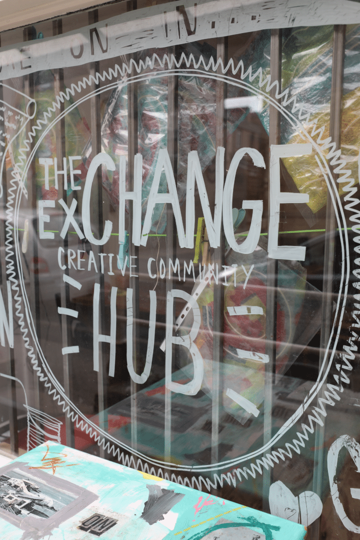 The exchange creative community hub