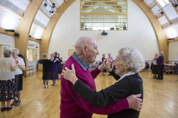 Tea Dance at the Trinity centre, North Ormesby Big Local
