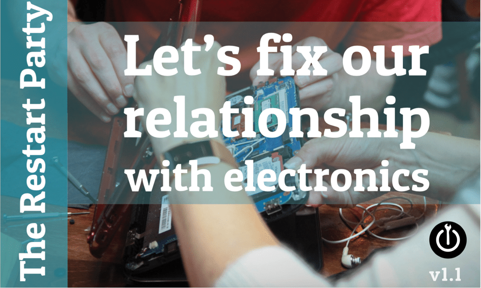 Let's fix our relationship with electronics