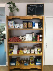 Community pantry at the Westraven community café