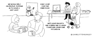 Excerpt from Power In Big Local Partnerships comic strip