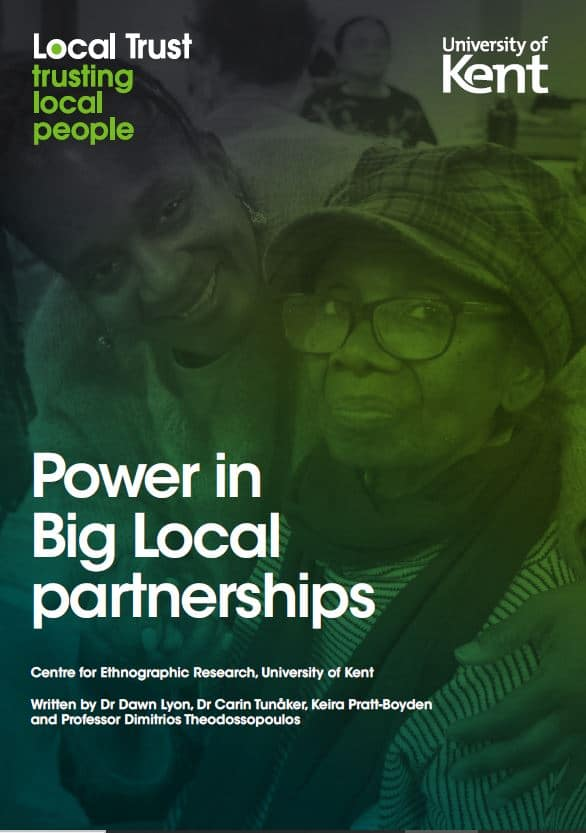 Front cover of Power In Big Local Partnerships PDF report